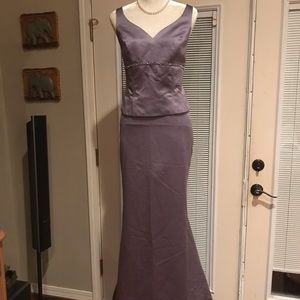 David's Bridal bridesmaid/mother's formal dress